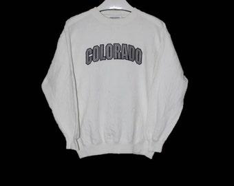 Vintage Colorado Sweatshirt M Size