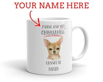 Chihuahua Gift - Personalized Chihuahua  Mug - Gift For Chihuahua Lovers - Chihuahua  Mom - Chihuahua Dad - Dog Lover Gift