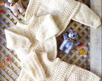 Baby Tunic and Sweaters, Knitting pattern, Instant Download