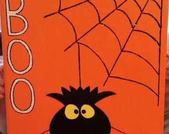 BOO Halloween Art