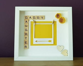 Daddy Daughter Personalised Frame