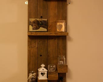 Beautiful Reclaimed Timber Shelves