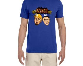 Golden State Warriors Super Splash Bros high quality T-shirt