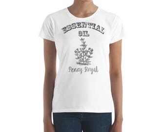 Essential Oil Penny Royal Women's short sleeve t-shirt