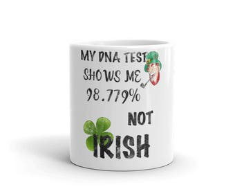 Irish DVA Test Mug