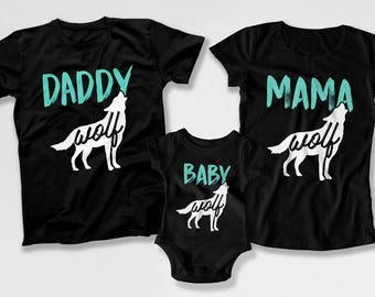 Matching Family Outfits Father Son Shirts Mother Daughter T Shirt Mommy Daughter Gifts Daddy And Me Shirts Family Tees TEP-192-193-194