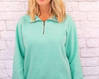 Adult Quarter Zip Sweatshirt