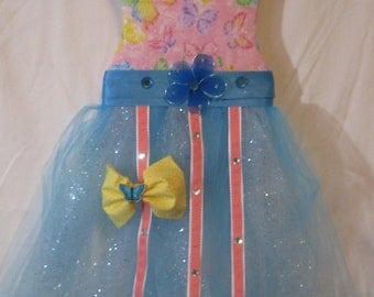 Oh so cute butterfly tutu bow holder