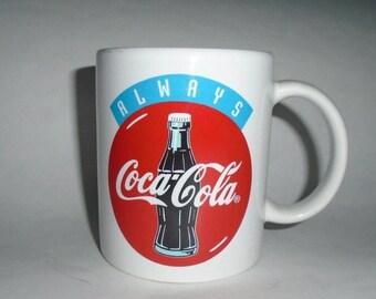 Vintage Always Coca Cola 1996 Olympics Atlanta Coffee Mug