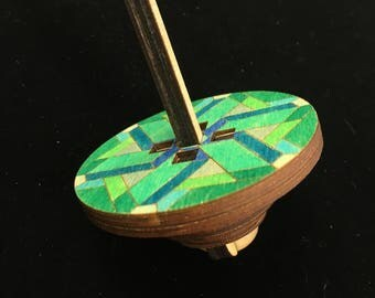 Spinning Wooden Top Toy