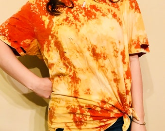 Distressed+Redressed Casual Tees