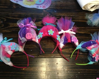 Party favor Trolls headbands