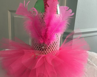 Flamingo Tutu Dress
