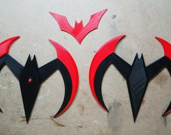 Batman Beyond Batarangs (3d printed)