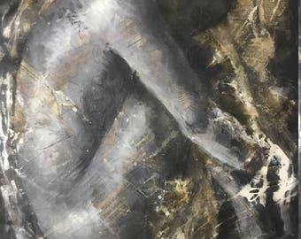 Original Painting - Fetus