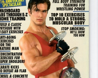 Exercise For Men Only  magazine- april  1996 - vol 12 -issue #2/ health and fitness