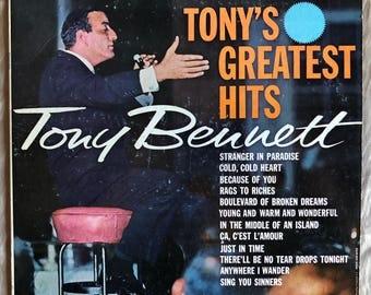 Tony Bennett / Greatest Hits - Vinyl - Record - LP - Album - Columbia - CL 1229 - Pop - Easy Listening
