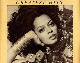 Diana Ross Greatest Hits Vintage Vinyl Record Album