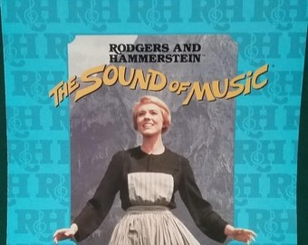 Edelweiss, The Sound of Music, by Rodgers & Hammerstein, vintage sheet music