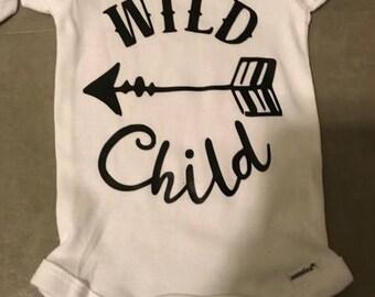 Baby Onesie Wild Child