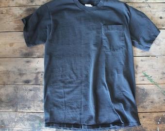 Vintage BVD Pocket T-shirt | Size Large | Made in USA | Soft