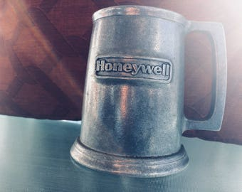 Honeywell Pewter Beer Mug