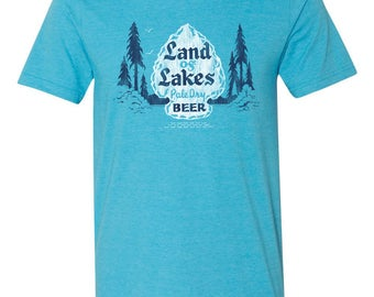 Land of Lakes Beer Tshirt
