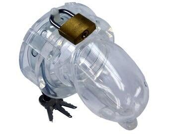 BON4 Male Chastity Device Silicone