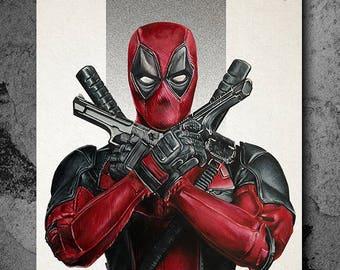 Deadpool A4 Print