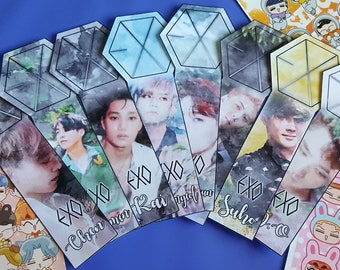 Kpop EXO Lightstick The War themed Watercolour Edit korea k-pop Bookmarks