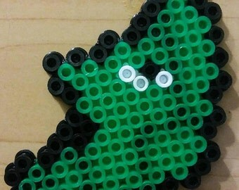 Metapod Perler Bead Magnet