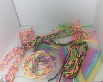 Rainbow tack set