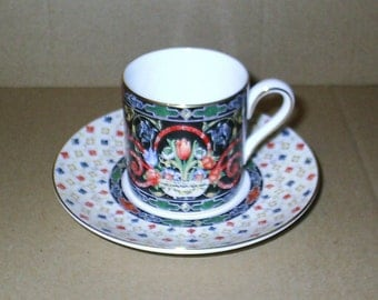 Wedgwood Harlequin Jewel Coffee Can & Saucer