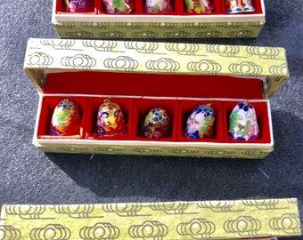 Small Vintage Cloisonee Bells