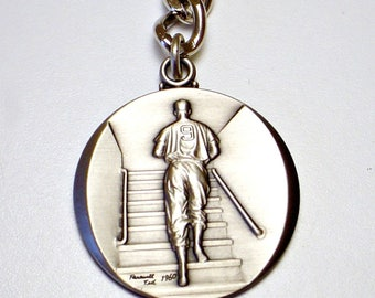 Ted Williams Keychain, Keyring, Pewter look, Collectible, Last Game