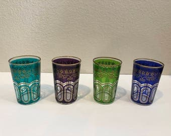 Vintage ARC Juice Glasses set of 4