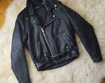sz. S/M   Authentic Harley Davidson Leather Jacket