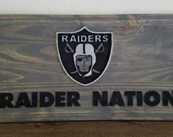 Raider Nation Sign