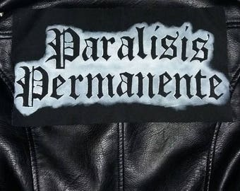 Permanent paralysis Patch