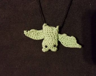 Tiny Bat Necklace