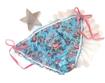 Floral Knickers, Tie side knickers, Ditsy Print Knickers, Vintage Inspired Knickers, Frilly Knickers, cotton knickers,