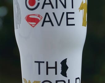 Justice League Movie Insulated Cup