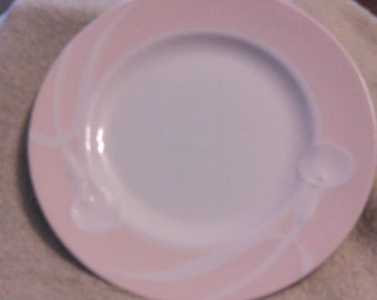 Mikasa Classic Flair Peach Pattern Salad Plate