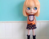 SALE - Dress for Blythe - Go Go Girl - Halloween #1