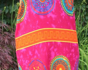 Beach dress Indonesia bright pink