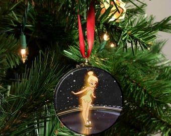 "Peter Pan Tinker Bell  2.25"" Ornament"