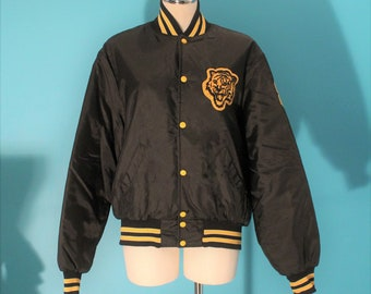 1980s Tiger Letterman Jacket