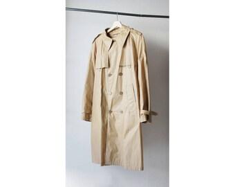 1970s Tan Trench Coat