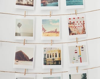 California photography, mini print set, LA San Francisco Joshua Tree San Diego photos, beach, CA photo gift set, Myan Soffia, travel prints
