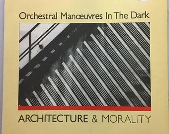 Architecture & Morality LP - Orchestral Manoeuvres in the Dark